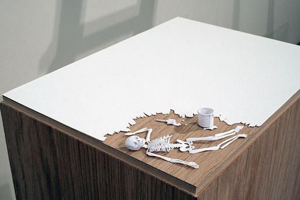 כדי ליצור את יצירות האמנות המדהימות הללו השתמשו בדף אחד!