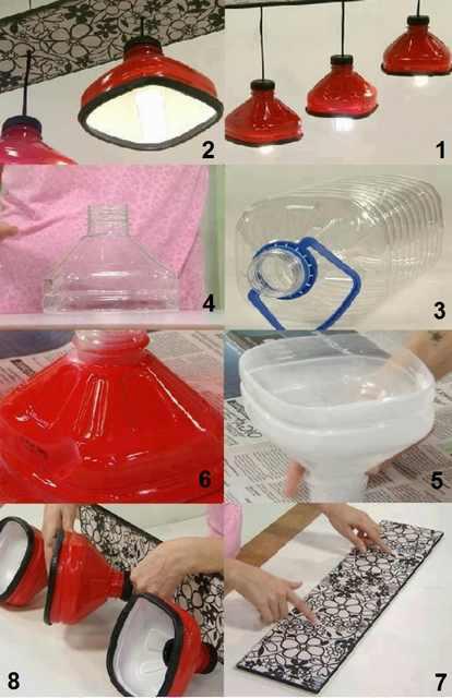 שימושים לבקבוקי פלסטיק