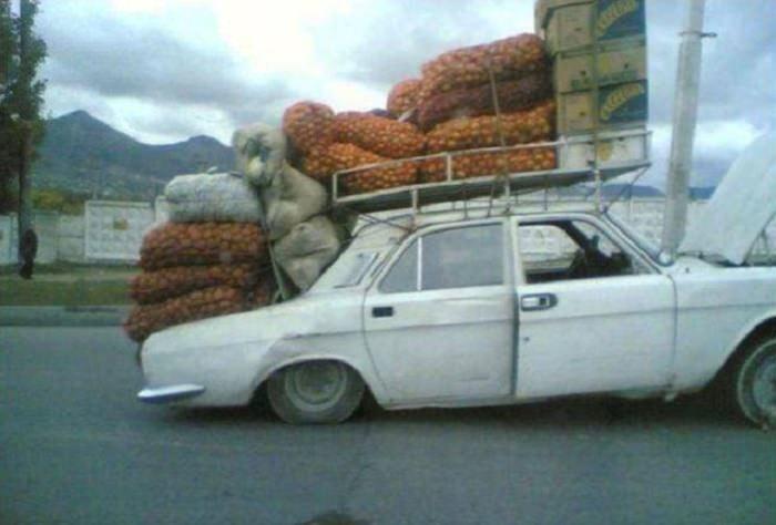 תיקוני רכבים מצחיקים