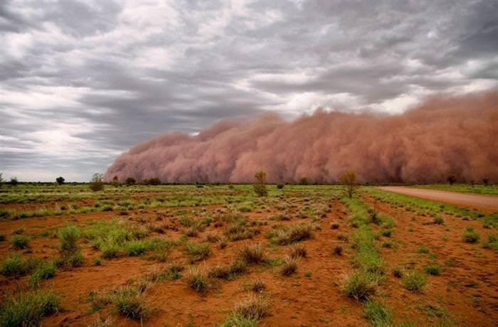 אוסטרליה תמונות מזג אוויר