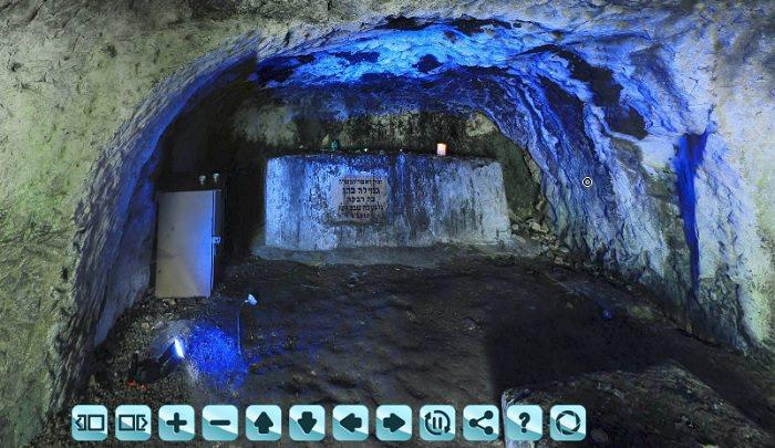 סיור וירטואלי בקברי המכבים