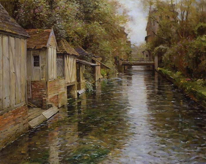 ציורי כפר צרפתי