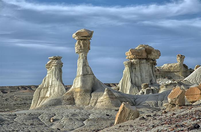 מבני האבן בניו מקסיקו