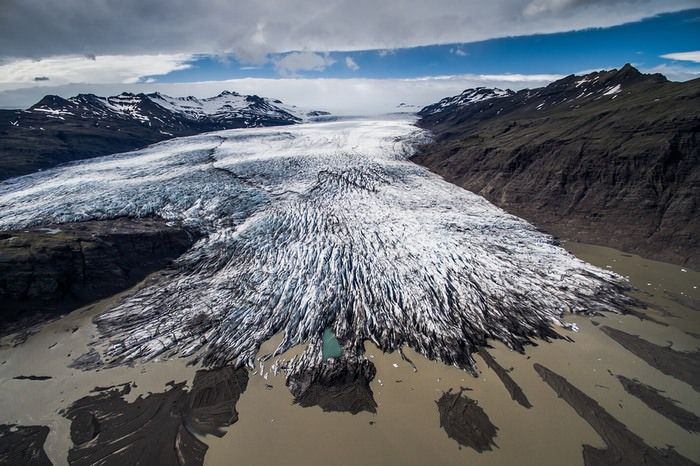 איסלנד ממעוף הציפור