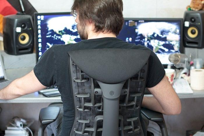 ישיבה נכונה מול המחשב