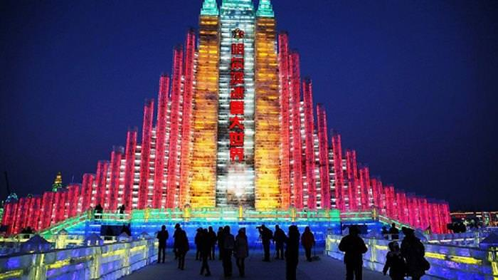 פסטיבל הקרח בסין