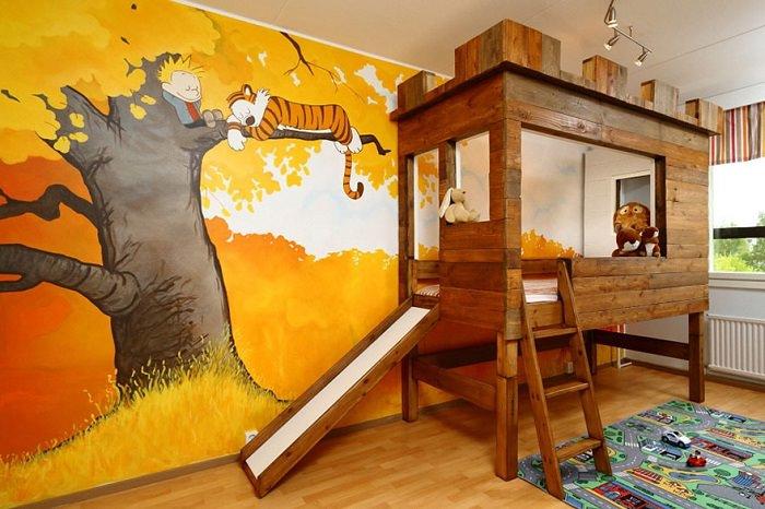 חדרי ילדים קסומים