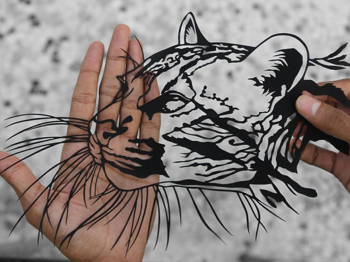 אמנות גזירי נייר