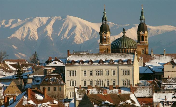 עיירות קטנות ברומניה: סיביו