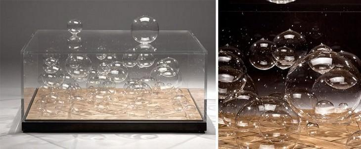 שולחן בועות מרחפות