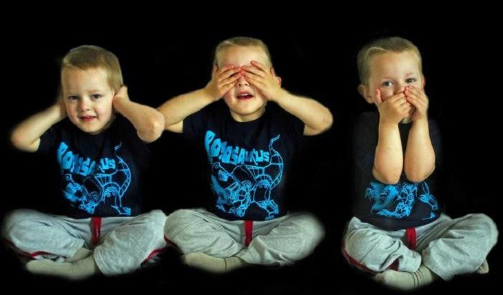 ילדים לא רואים, לא שומעים ולא מדברים