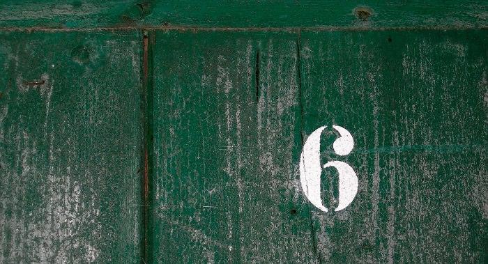 הספרה 6