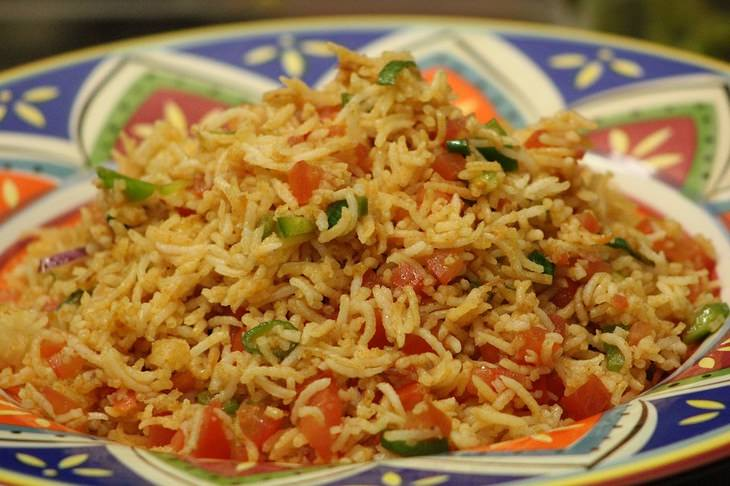 אורז בנוסח מקסיקני