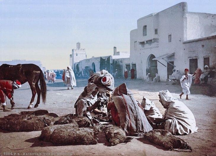 גלויות מתוניסיה של המאה ה-19