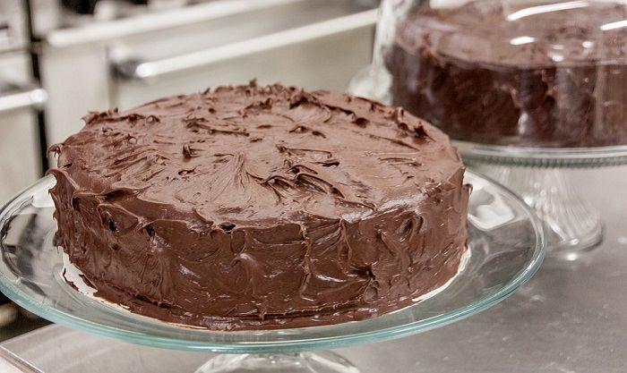 עוגת שוקולד לארוחת בוקר
