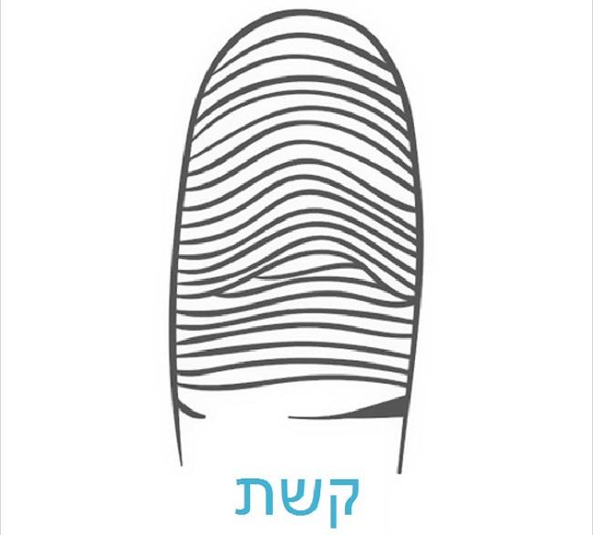 מה האישיות שלך על פי טביעת האצבע: קשת