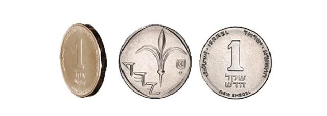 הסמלים על הכסף הישראלי