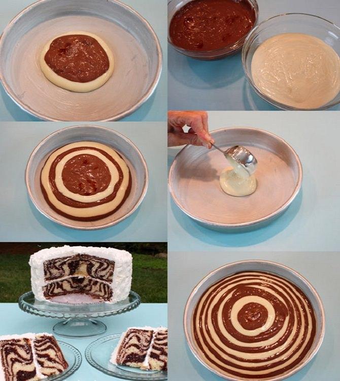 שדרוגים וטיפים לבישול והגשה: שלבי הכנת העיצוב לעוגה