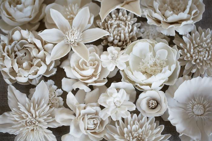 פרחי פורצלן
