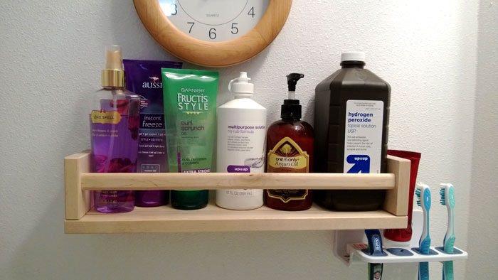 טיפים לאחסון בחדר האמבטיה