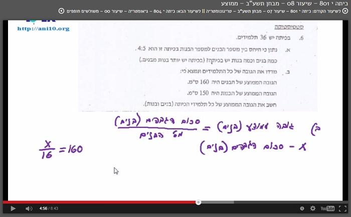 לימוד מתמטיקה בחינם