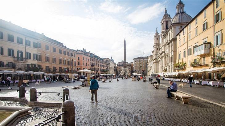 אטרקציות ברומא: פיאצה נבונה