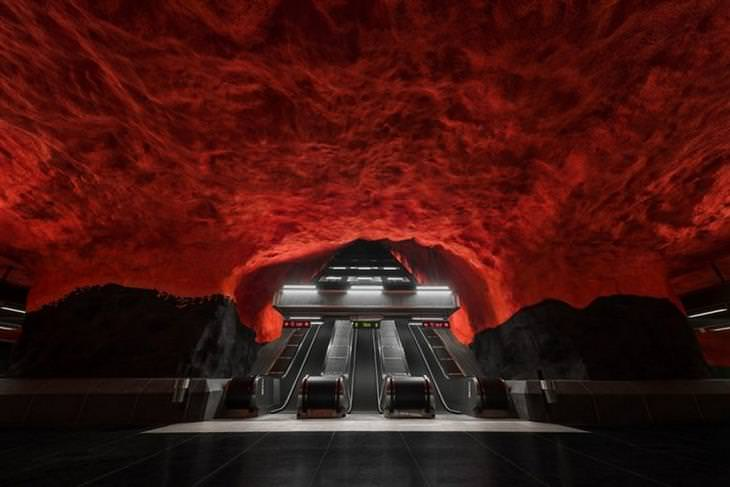 הרכבת התחתית בסטוקהולם