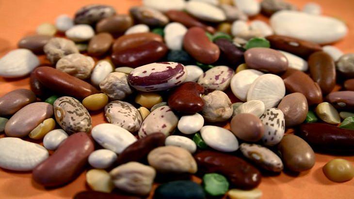 יתרונות בריאותיים של סוגי שעועית שונים: שעועית בתפזורת