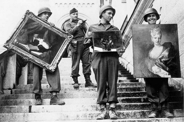 יצירות אומנות שנבזזו על ידי הנאצים