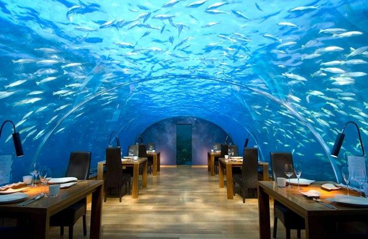 מסעדות במקומות לא שגרתיים בעולם