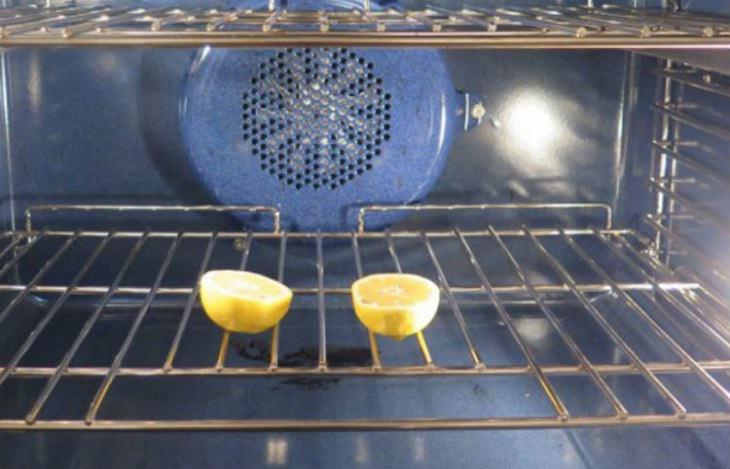 בית נקי מחרקים: לימונים בתנור