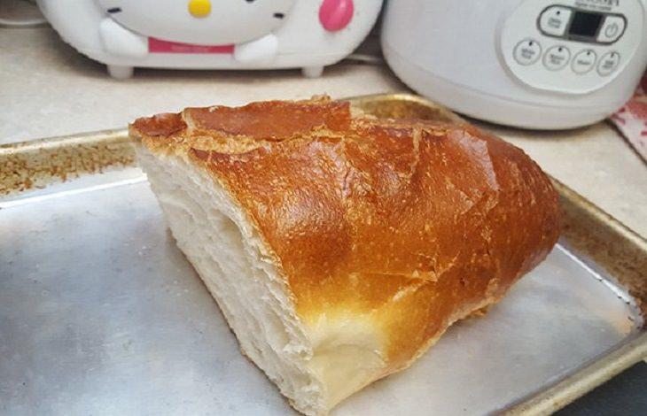 שיטה להפיכת לחם ישן לטרי