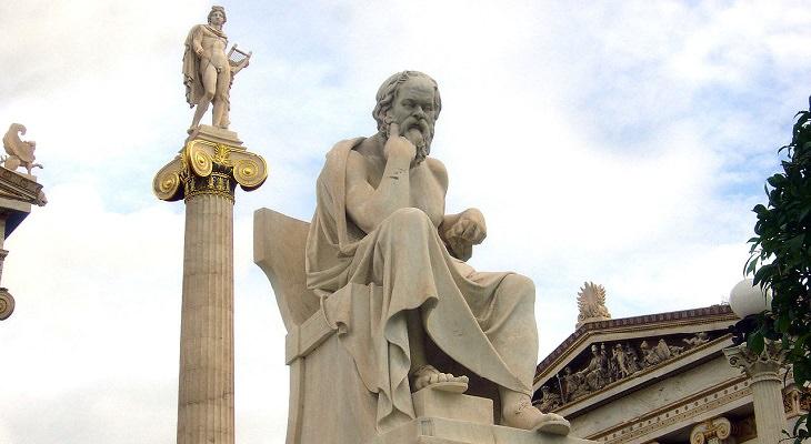 מבחן סוקרטס - פסל של סוקרטס