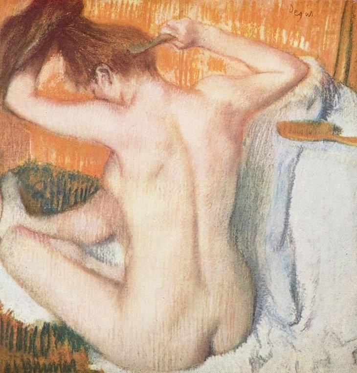 מדריך לצייר המתחיל: הטואלט של אדגר דגה