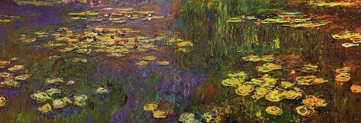 """מדריך לצייר המתחיל: """"חבצלות המים"""" של קלוד מונה"""