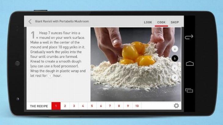 אפליקציית Look & Cook