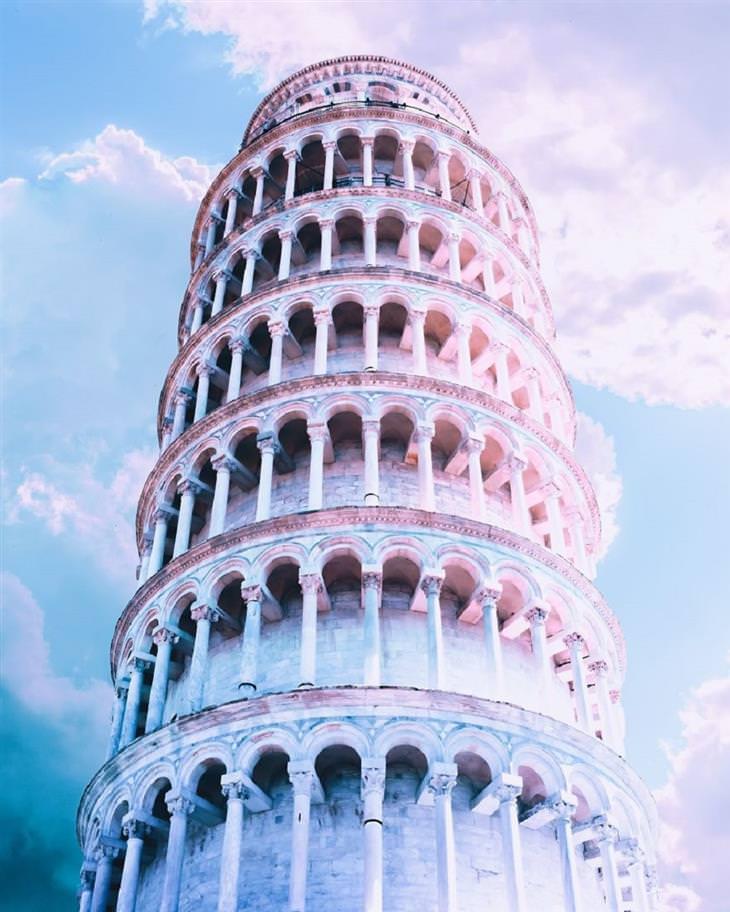 תמונות מיוחדות מאיטליה: מגדל פיזה