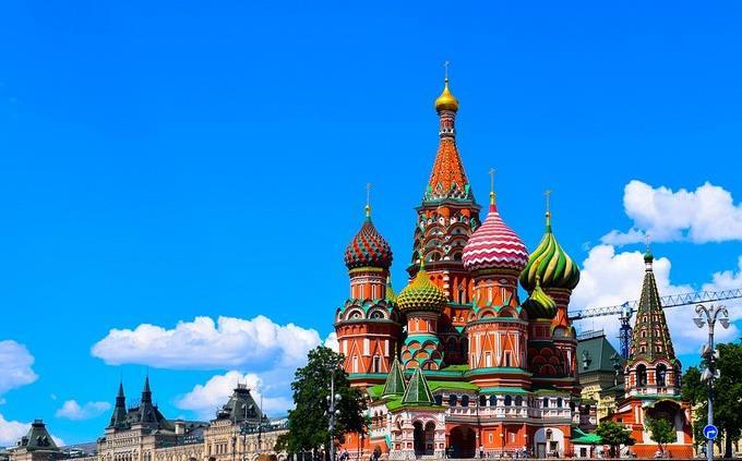 מבנים בכיכר האדומה במוסקבה