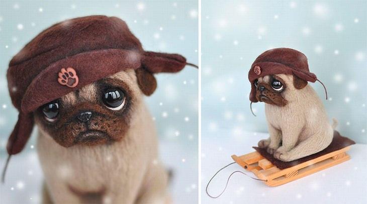 צעצועים - פסלונים של חיות מבית מאמאדוצ'ה