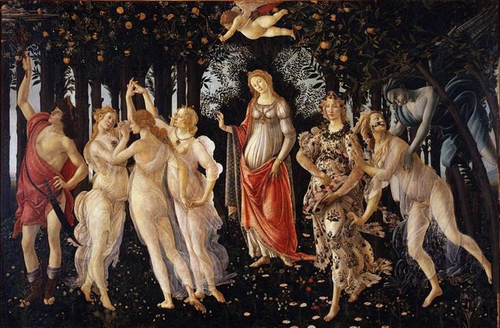 הסודות מאחוריי הציורים הנודעים בעולם: הציור פרימוורה של בוטיצ'לי