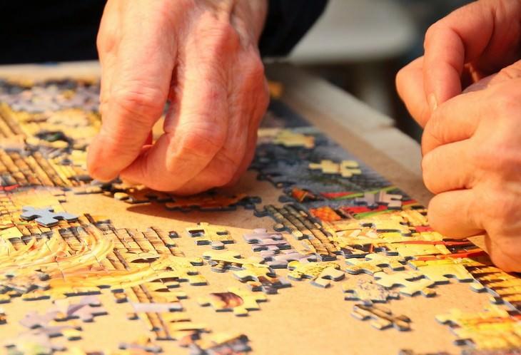 סודות של משפחות מאושרות: יד מרכיבה פאזל