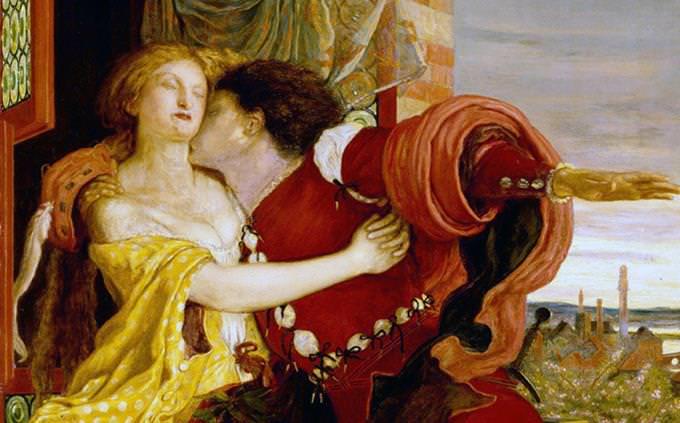 ציור של רומיאו ויוליה