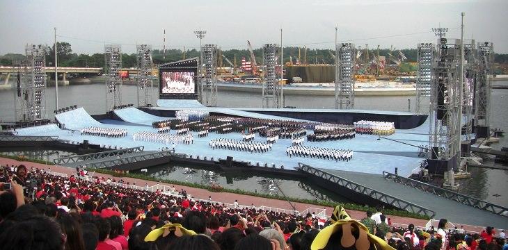 האיצטדיונים היפים בעולם: אירוע באיצטדיון הצף