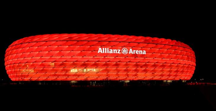 האיצטדיונים היפים בעולם: אצטדיון האליאנץ ארנה מבחוץ