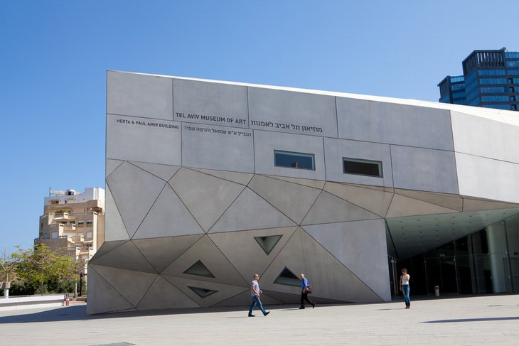 מבנים מיוחדים בישראל: האגף החדש של מוזיאון תל אביב לאומנות
