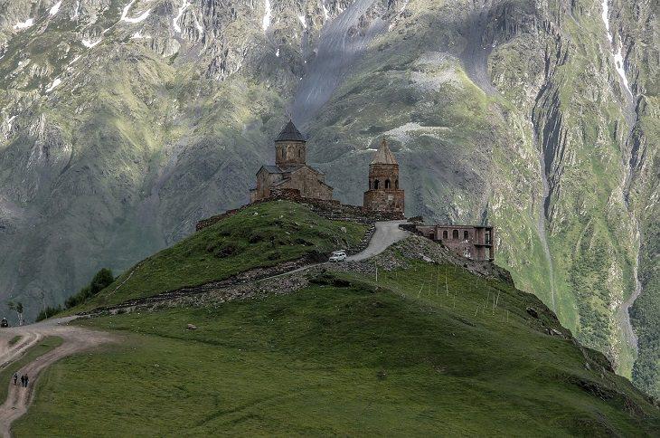 מסלול טיול בגאורגיה: כנסיית הצלב במצחתה