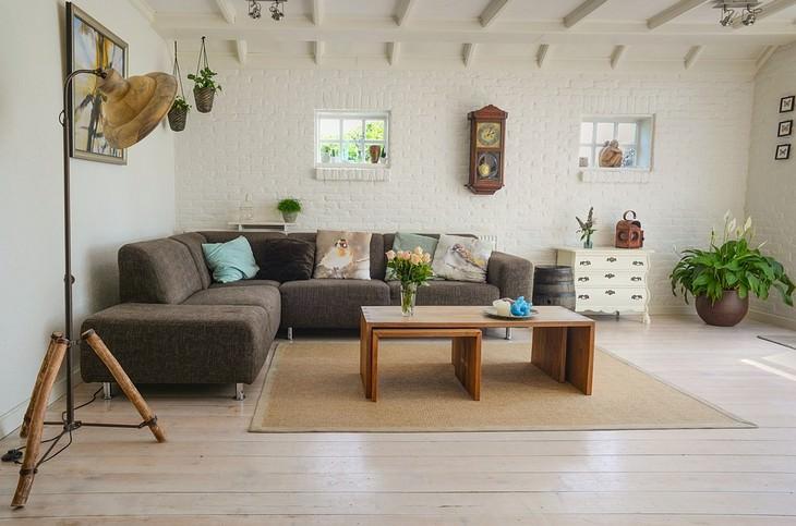 שימוש בשמנים אתריים ברחבי הבית: סלון