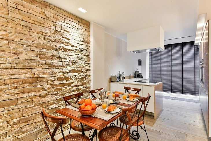 שימוש בשמנים אתריים ברחבי הבית: חדר אוכל