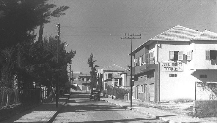 זיכרונות ילדות: רחוב בראשון לציון בשנת 1937