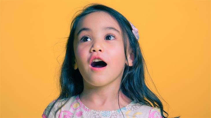 שאלות שכדאי לשאול את הילדים: ילדה עם פה פעור